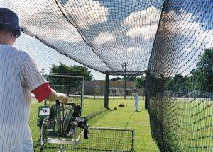 Batting Cage - Pitching Machine