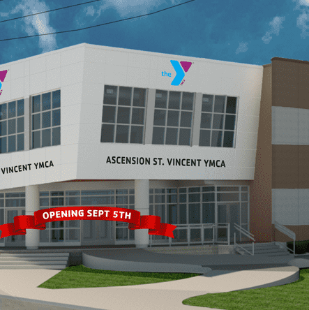 Ascension St. Vincent YMCA Opening September 5, 2019